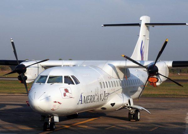 Aeropuerto-de-Formosa-ATR42-LV-CZJ-de-American-Jet-II