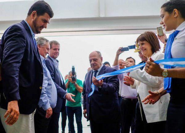 Fotos MGP - Arroyo y Bullrich - Inauguracion sede Agencia Regional Policia Federal Argentina 1