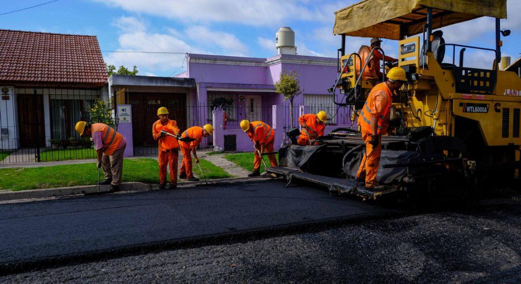 Fotos MGP - Obras en los barrios - Asfalto en San Matrtin 2