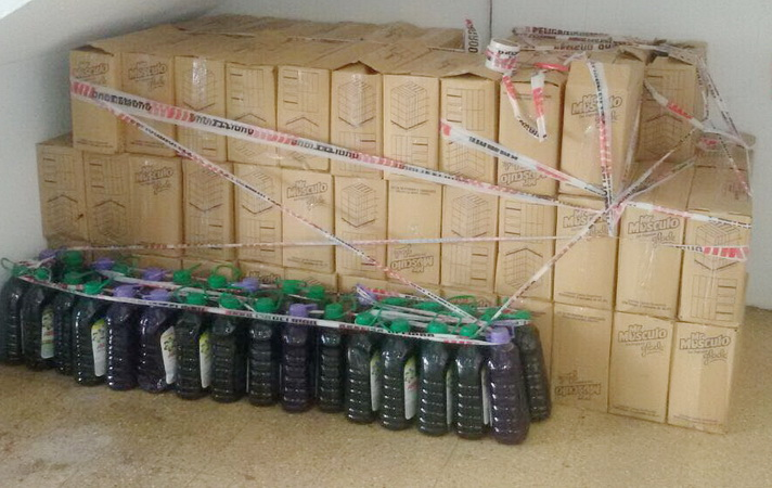 Fotos MGP - Inspeccion General - Secuestro de jabon liquido no oficial 1