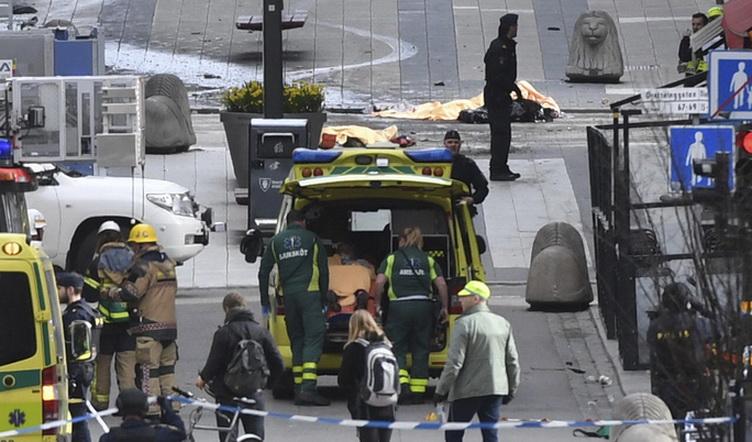 EEUU condena ataque en Suecia que quot;fortalecequot; determinación antiterrorista