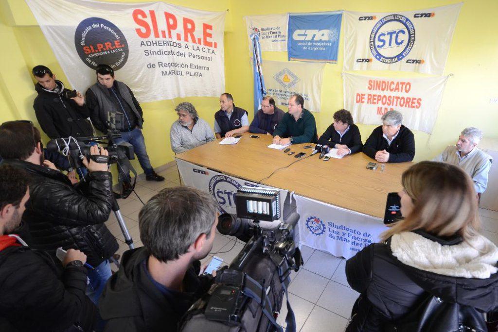 Conf prensa Micheli y CTA-A MdP 5