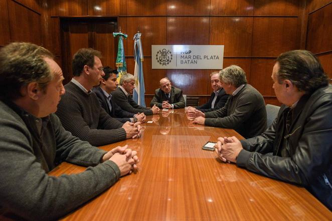 Reunión despacho Arroyo