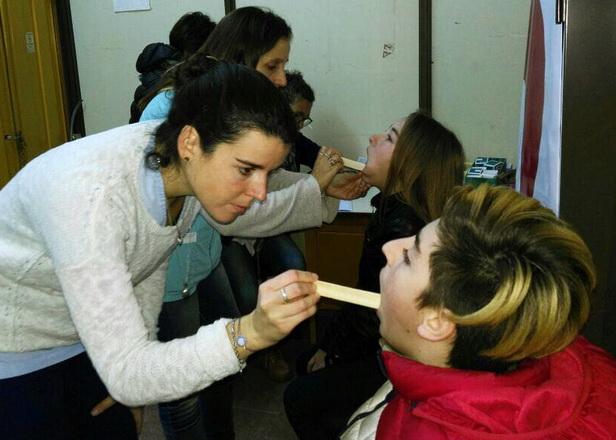 Foto MGP - El Programa de Prevención Bucal Anual llegó al CAPS Faro Norte.