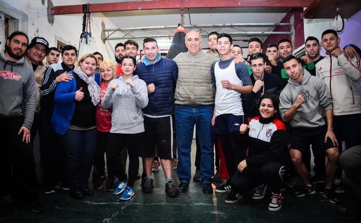 Juan Rey y Boxeadores