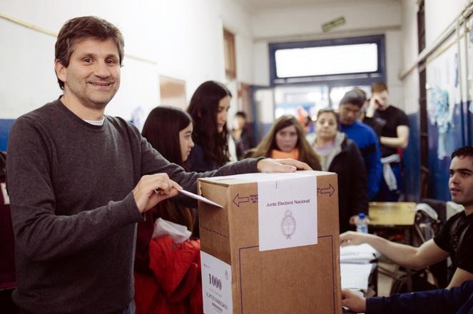 Ariel Ciano voto PASO 2017