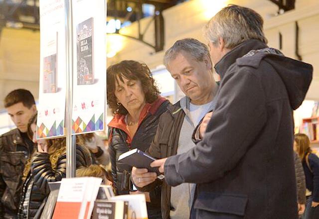 Artime y Branderiz en la Feria del Libro