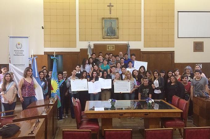 Reconocimiento estudiantes SAN SEBASTIAN