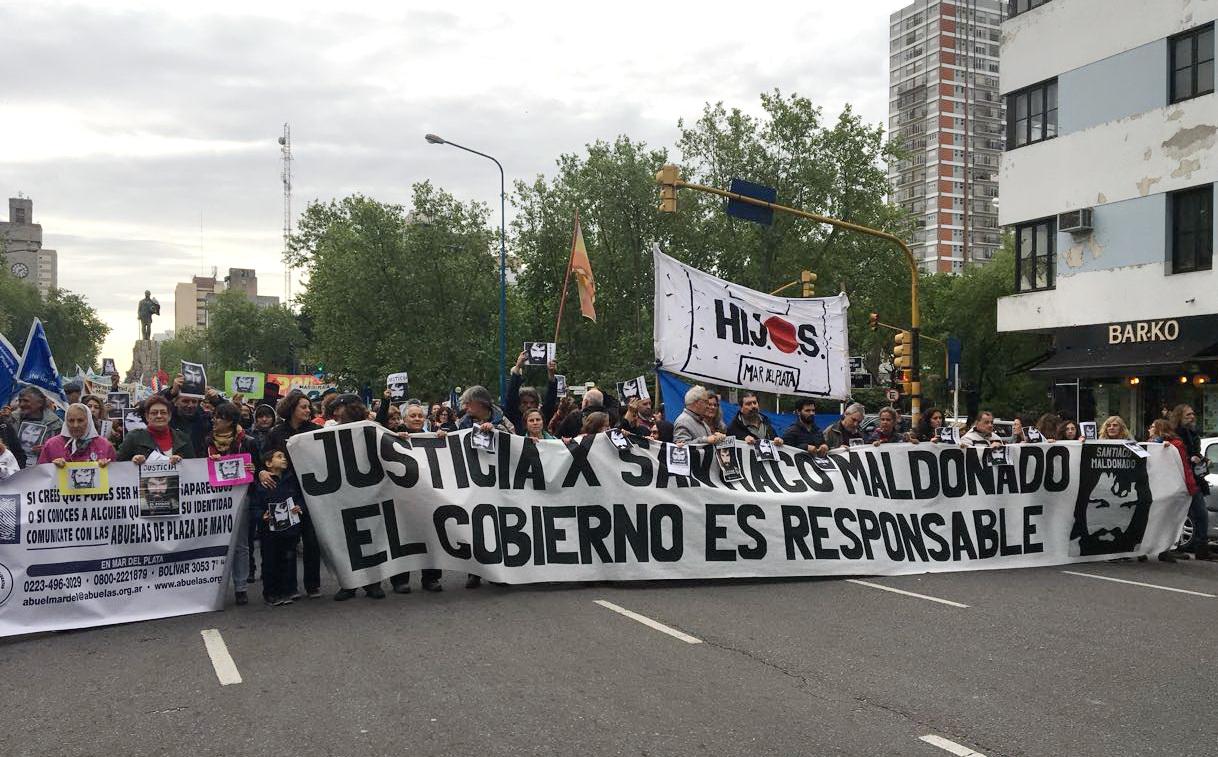 Marcha por Santiago 1