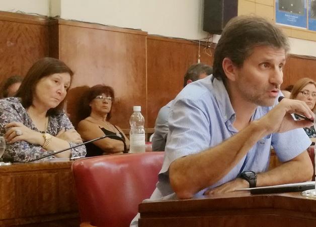 Concejal Ariel Ciano