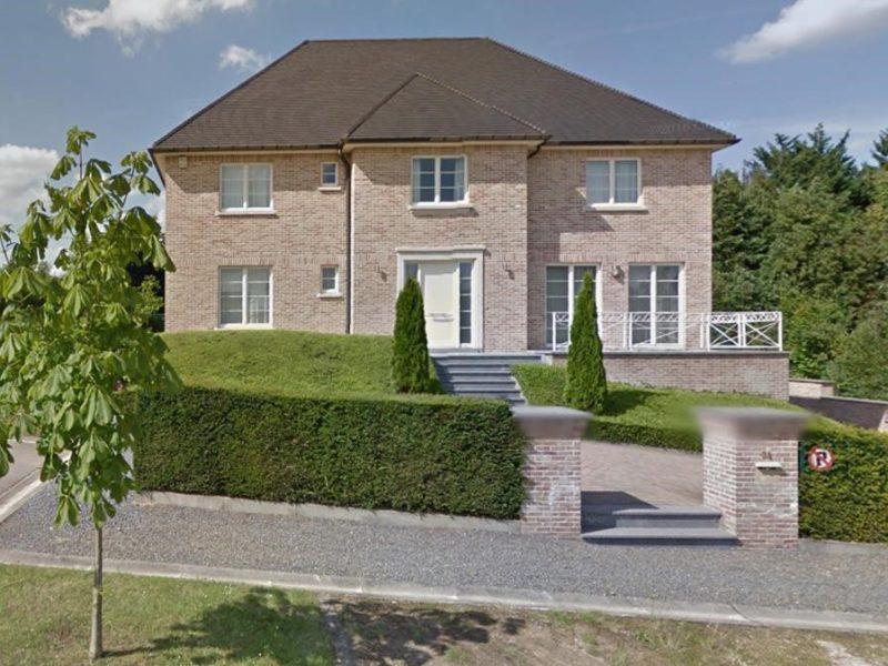 Casa de Carles Puigdemont en Waterloo  Bruselas Avenue de l Avocat  34 Foto del Googlemaps