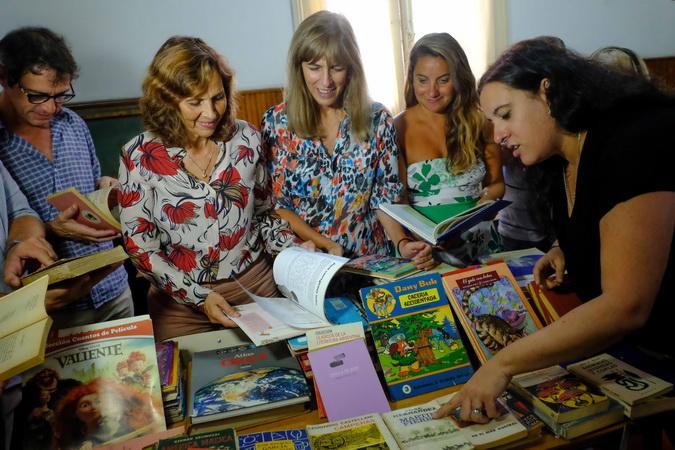 Donacion de libros
