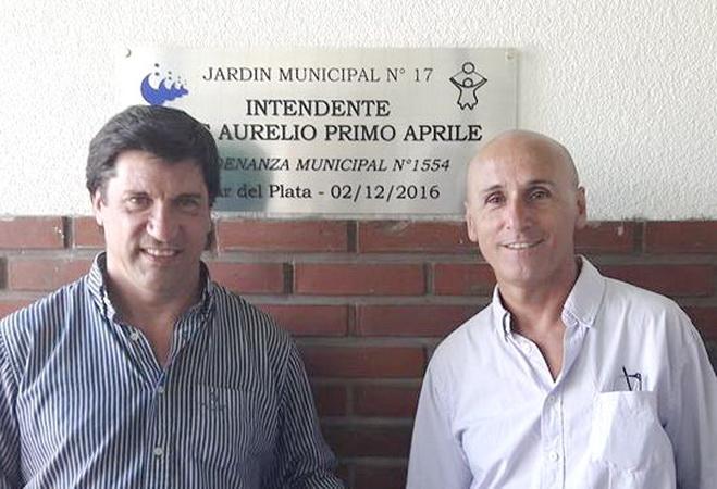 Mario Rodríguez y Sebastián Puglisi