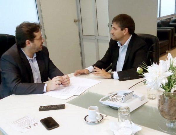 Ariel Ciano con Marco Lavagna 1