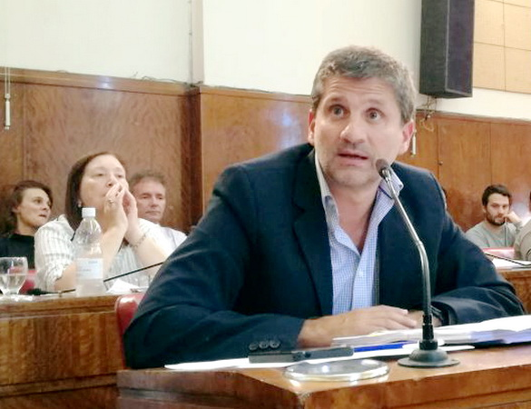 Ariel Ciano en el HCD