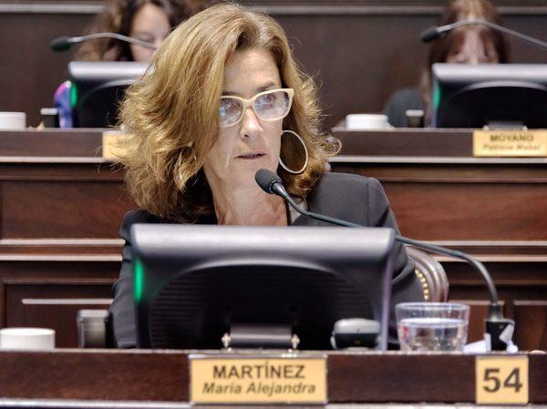 Alejandra Martínez - Diputada de la Pcia. de Bs. As. - Sesión Le