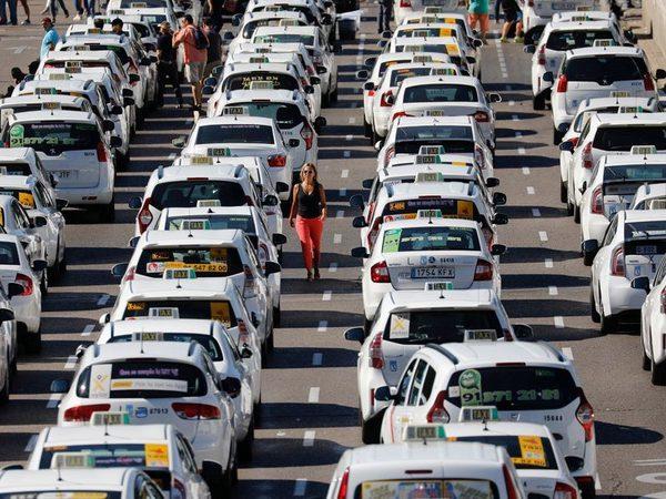 huelga-taxistas