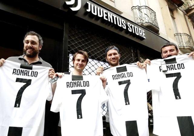 Cristiano Ronaldo a la Juventus — Oficial