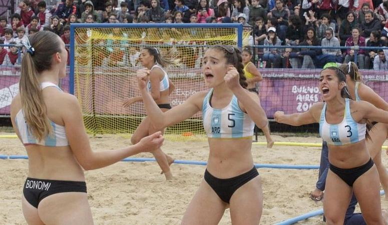 Beach handball: las chicas esperan rival en semis luego de ...