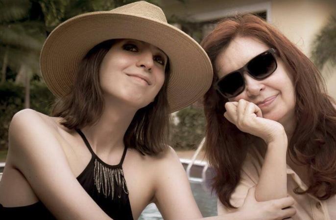 El emotivo saludo de Florencia Kirchner por el cumpleaños de Cristina